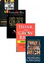 Bộ Sách Hay Của Napoleon Hill: Nghĩ Giàu Và Làm Giàu + Bí Quyết Làm Giàu + Chiến Thắng Con Quỷ Trong Bạn + Làm Thế Nào Để Tăng Lương (Bộ 4 Cuốn)