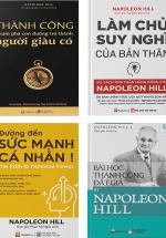 Bộ Sách Hay Của Napoleon Hill: Những Bài Học Thành Công Đắt Giá Từ Napoleon Hill + Đường Đến Sức Mạnh Cá Nhân + Làm Chủ Suy Nghĩ Của Bản Thân + Những Bài Học Thành Công Đắt Giá Từ Napoleon Hill (Bộ 4 Cuốn)