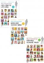 Combo Nhân Vật Nổi Tiếng Thế Giới (Bộ 3 Cuốn)