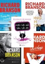 Bộ Sách Hay Của Richard Branson: Mặc Kệ Nó Làm Tới Đi + Like A Virgin - Kinh Doanh Như Một Cuộc Chơi + Tự Truyện Richard Branson - Đường Ra Biển Lớn + Phong Cách Virgin + Richard Branson : Người Đi Tìm Bão (Bộ 5 Cuốn)