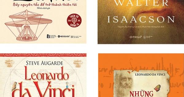 Bộ Sách Hay Về Leonardo Da Vinci: Những Tuyệt Phẩm Dành Cho Thiếu Nhi + Leonardo Da Vinci + Leonardo Da Vinci + Tư Duy Như Leonardo Da Vinci (Bộ 4 Cuốn)