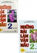 Combo Những Bài Làm Văn Mẫu 2 - Tập 1 + 2 (Bộ 2 Cuốn)