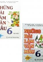 Combo Những Bài Làm Văn Mẫu 6 - Tập 1 + 2 (Bộ 2 Cuốn)