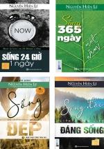 Bộ Sách Hay Của Nguyễn Hiến Lê: Sống Đời Đáng Sống + Nghệ Thuật Sống Trọn Vẹn + Sống 365 Ngày Một Năm + Sống 24 Giờ 1 Ngày (Bộ 4 Cuốn)