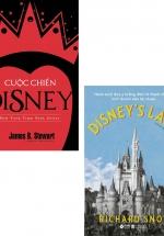 Combo Disney's Land - Hành Trình Đưa Ý Tưởng Điên Rồ Thành Cỗ Máy Kinh Doanh Siêu Lợi Nhuận + Cuộc Chiến Disney (Bộ 2 Cuốn)