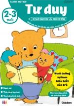 Tư Duy (2-3 Tuổi) - Giáo Dục Nhật Bản - Bộ Sách Dành Cho Lứa Tuổi Nhi Đồng
