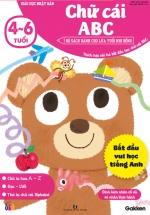 Chữ Cái ABC (4-6 Tuổi) - Giáo Dục Nhật Bản - Bộ Sách Dành Cho Lứa Tuổi Nhi Đồng