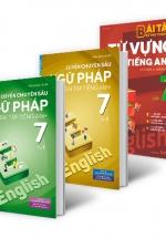 Combo Củng Cố Toàn Diện Từ Vựng Và Ngữ Pháp Tiếng Anh Lớp 7 (Bộ 3 Cuốn)