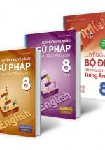 Combo Chinh Phục Điểm Cao Tiếng Anh Lớp 8 (Bộ 3 Cuốn)