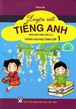 Luyện Viết Tiếng Anh Trình Bày Trên Giấy Ô Li Dùng Cho Học Sinh Lớp 1