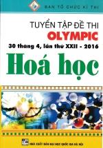 Tuyển Tập Đề Thi Olympic 30 Tháng 4 , Lần Thứ XXII-2016 Hóa Học