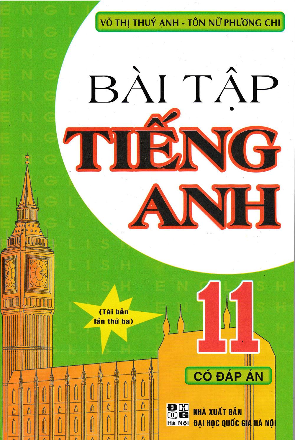 Bài Tập Tiếng Anh 11 Có Đáp Án - EBOOK/PDF/PRC/EPUB