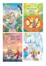 Bộ Truyện Song Ngữ Anh - Việt Dành Cho Trẻ Từ 3 Tuổi: Bà Chúa Tuyết + Bầy Chim Thiên Nga + Chú Vịt Con Xấu Xí + Cô Bé Tí Hon (Bộ 4 Cuốn)