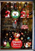 Combo 2 Decal Trang Trí Giáng Sinh Túi Quà 2021