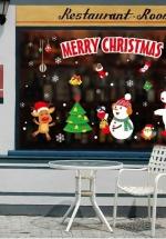 Decal 2 Mặt Trang Trí Noel Vui Đêm Giáng Sinh