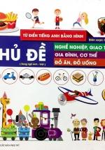 Từ Điển Tiếng Anh Bằng Hình - Chủ Đề Nghề Nghiệp, Giao Thông, Gia Đình, Cơ Thể, Đồ Ăn, Đồ Uống
