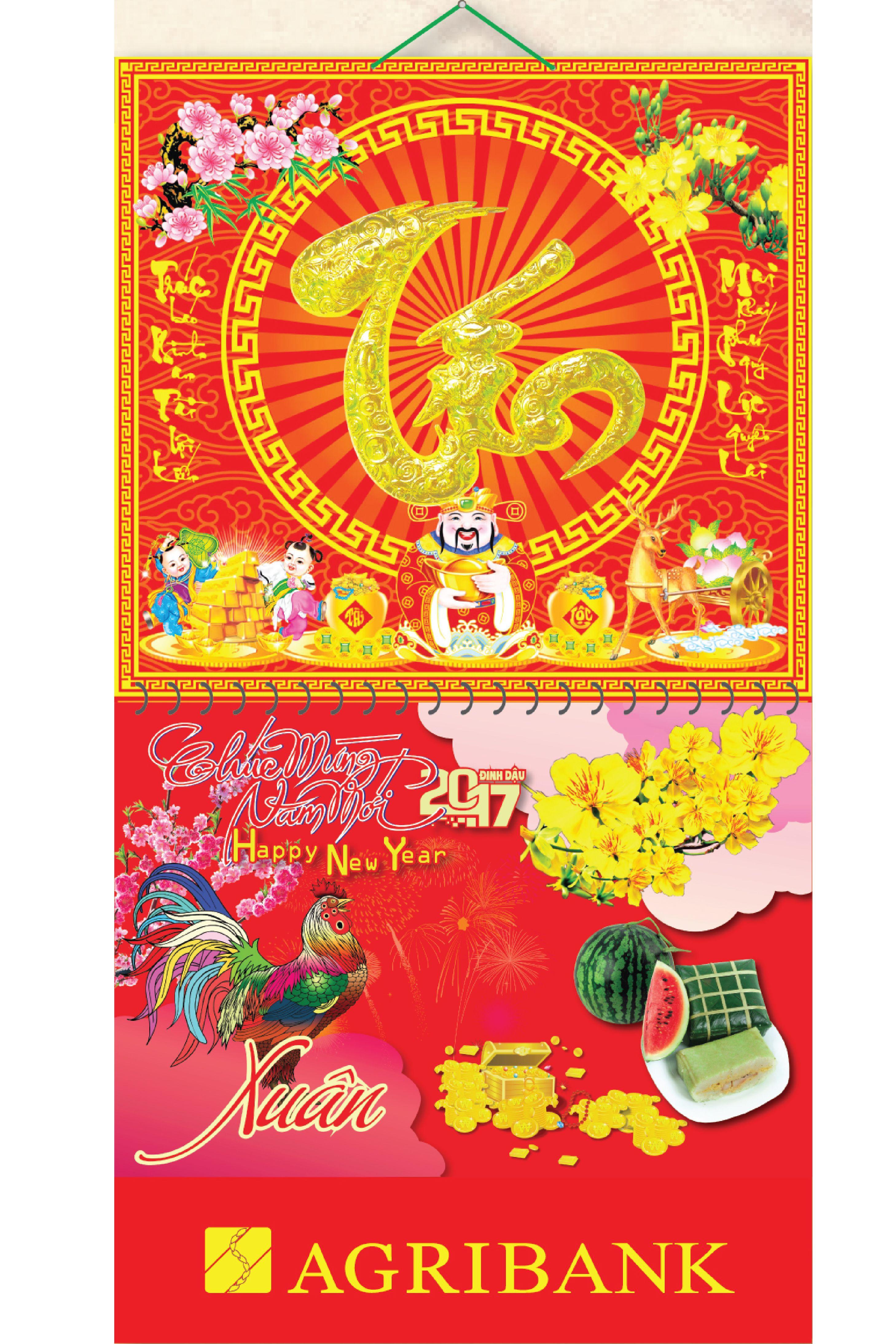 Bìa Treo Lịch Tết 2017 Lò Xo Giữa Gắn Bộ Số Dán Nổi Chữ Tín KV.65 - EBOOK/PDF/PRC/EPUB