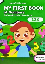 My First Book Of Numbers - Cuốn Sách Đầu Tiên Của Bé - 123