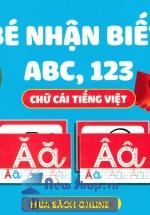 Thẻ Bé Nhận Biết ABC, 123