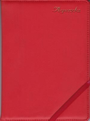Sổ Agenda 2017 Dây Kẹp Khổ 16 x 24 Kèm Viết Màu Đỏ - EBOOK/PDF/PRC/EPUB
