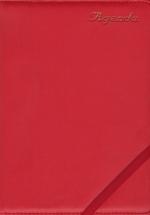 Sổ Agenda 2017 Dây Kẹp Khổ 16 x 24 Kèm Viết Màu Đỏ