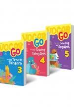 Combo Vocab Go Học Nhanh Toàn Diện Từ Vựng Tiếng Anh Lớp 3, 4, 5 (Bộ 3 Cuốn)