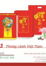 Lịch Bloc Siêu Cực Đại 2021 (29x42 Cm) - Phong Cảnh Việt Nam - TĐ04