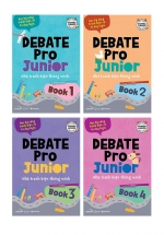 Combo Debate Pro Junior: Nhà Tranh Biện Thông Minh (Bộ 4 Cuốn)