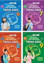 Bộ Sách Luyện Giải Bộ Đề Bồi Dưỡng Học Sinh Giỏi Tiếng Anh THCS (Bộ 4 Cuốn)