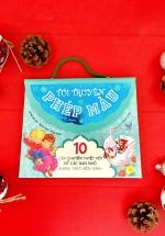 Túi Truyện Xinh Đẹp - 10 Câu Chuyện Tuyệt Vời Để Các Bạn Nhỏ Mang Theo Bên Mình (Túi Màu Xanh)