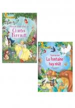Combo Tủ Sách Vàng Cho Con - Truyện Ngụ Ngôn La Fontaine Hay Nhất + Những Câu Chuyện Cổ Tích Của Charles Perrault (Bộ 2 Cuốn)