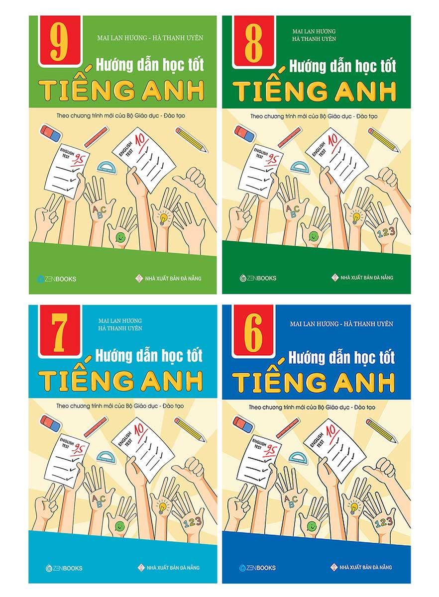 Combo Hướng Dẫn Học Tốt Tiếng Anh THCS - Theo Chương Trình Mới Của Bộ Giáo Dục Và Đào Tạo (Bộ 4 Cuốn)