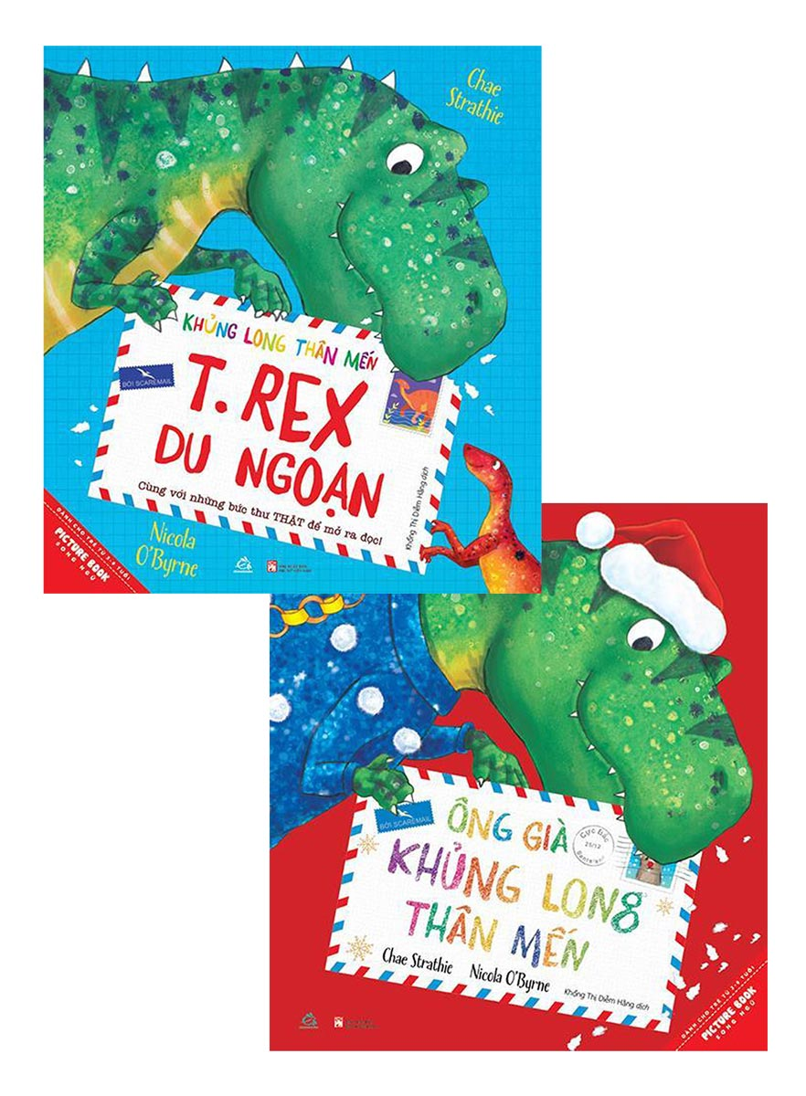 Combo Khủng Long Thân Mến - T.rex Du Ngoạn + Ông Già Khủng Long Thân Mến