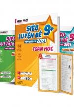 Combo Khối B Mega 2021 - Siêu Luyện Đề 9+ THPT Quốc Gia 2021 - Toán Hoá Sinh