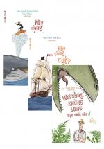 Combo Hãy Cùng Cá Voi Ngắm Biển Xanh + Hãy Cùng Khủng Long Dạo Chơi + Hãy Cùng Cướp Biển Tung Hoành Biển Cả Nào! (Bộ 3 Cuốn)