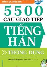 5500 Câu Giao Tiếp Tiếng Hàn Thông Dụng