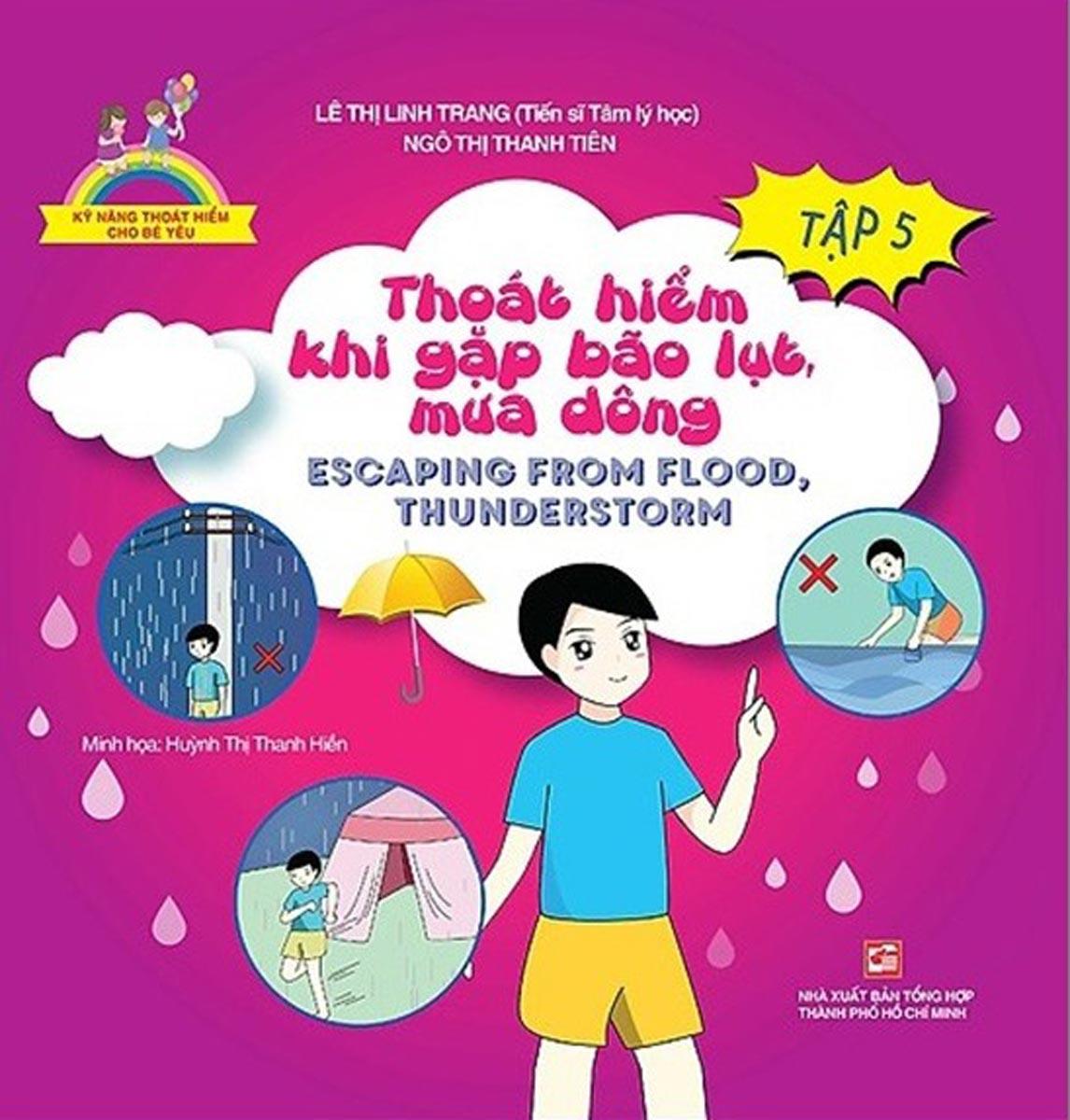 Kỹ Năng Thoát Hiểm Cho Bé Yêu - Tập 5 - Thoát Hiểm Khi Gặp Bão Lụt Mưa Dông