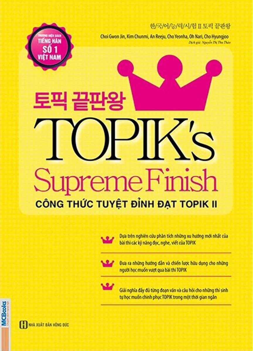 TOPIK's Supreme Finish - Công Thức Tuyệt Đỉnh Đạt TOPIK II