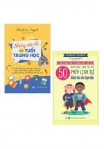 Combo Những Vấn Đề Của Tuổi Trung Học + 50 Bài Học Thú Vị Về Phép Lịch Sự Dành Cho Các Bạn Nhỏ (Bộ 2 Cuốn)