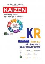 Combo OKR - Phương Pháp Thiết Lập Mục Tiêu Và Quản Lý Công Việc Vượt Trội + Kaizen – Nền Tảng Cốt Lõi Tạo Nên Giá Trị Toyota - 6 Bước Để Không Ngừng Cải Tiến Doanh Nghiệp (Bộ 2 Cuốn)