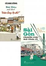 """Combo Sài Gòn Một Thuở """"Dân Ông Tạ Đó!"""" + Sài Gòn Chuyện Xưa Mà Chưa Cũ (Bộ 2 Cuốn)"""