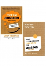 Combo 10 Bước Xây Dựng Thành Công Thương Hiệu Việt Trên Amazon + Tư Duy Amazon (Bộ 2 Cuốn)