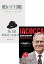 Combo Iacocca - Đời Kinh Doanh + Tại Sao Chúng Ta Nghèo? (Bộ 2 Cuốn)