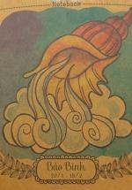 Notebook - 12 Cung Hoàng Đạo : Bảo Bình (Khổ 13 x 13)