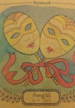 Notebook - 12 Cung Hoàng Đạo : Song Tử (Khổ 13 x 13)