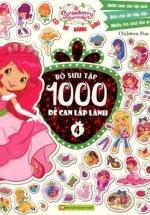 Cô Bé Bánh Dâu - Bộ Sưu Tập 1000 Đề Can Lấp Lánh (Tập 4)