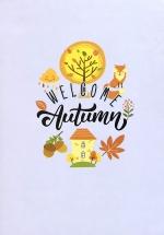 Notebook - Welcome Autumn (Khổ 13 x 18)