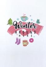 Notebook - Winter Around Here (Khổ 13 x 18)