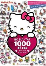 Hello Kitty - Bộ Sưu Tập 1000 Đề Can - Thế Giới Ngọt Ngào