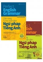 Combo Perfect English Grammar - Cẩm Nang Tự Học Toàn Diện Ngữ Pháp Tiếng Anh: Basic & Advanced (Bộ 2 Cuốn)